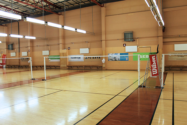 Badminton och squachhall